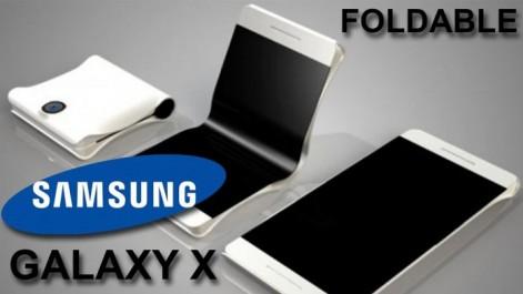 Samsung Galaxy X : Le smartphone pliable ne devrait plus tarder !