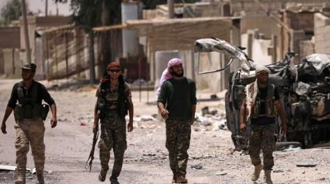 Syrie : des FDS détiennent des émirs étrangers de Daech