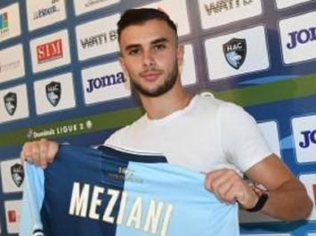 Transfert : Tayeb Meziani s'engage avec le Havre AC