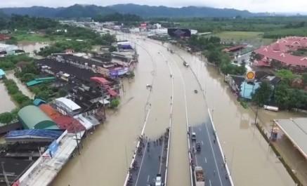 Vingt-trois morts en un mois dans des inondations en Thaïlande