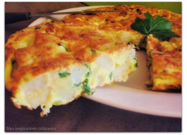 Tortilla Courgettes-Pommes de terre