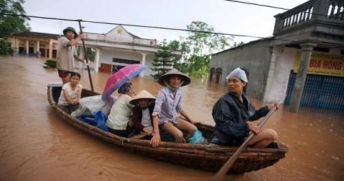 Vietnam: inondations meurtrières au nord du pays
