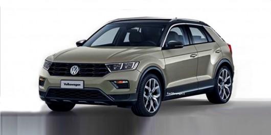 VW T-Roc Et le concept devient réalité