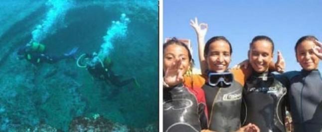 Tipasa : Des cours de plongée sous-marine pour les élèves de Menaceur