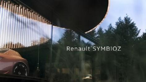 Salon de Frankfurt 2017 : Renault Symbioz, la mobilité du futur selon le Losange