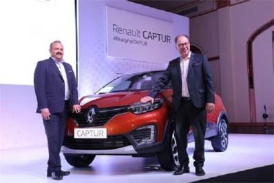 Renault : Le Renault Captur à l'assaut du marché indien