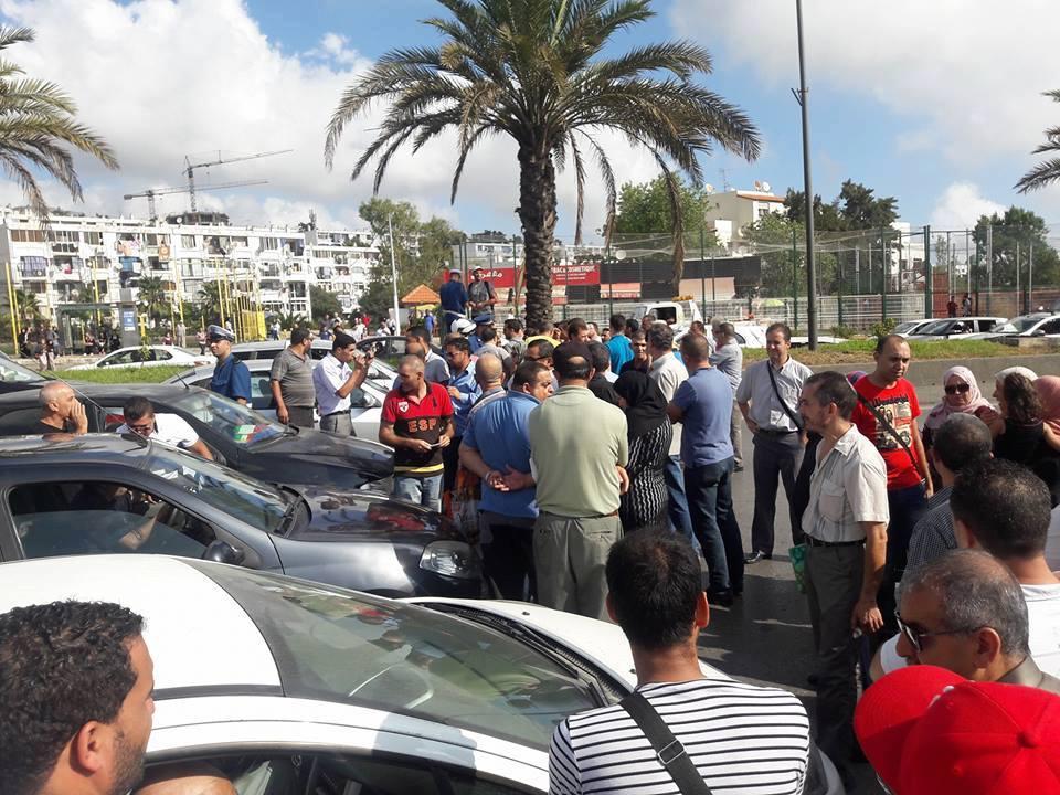 Les habitants de la cité 1500 logements AADL de Zaatria
