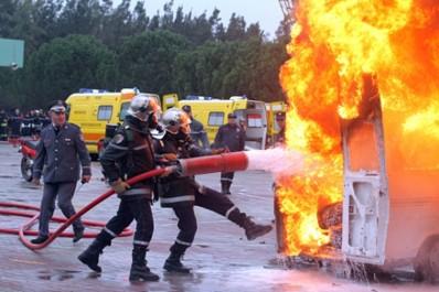 Oum El Bouaghi : Plus de 1 400 interventions effectuées par la Protection civile au mois d'août