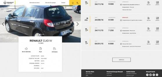 Carnet d'entretien: numérique La nouvelle initiative de Renault