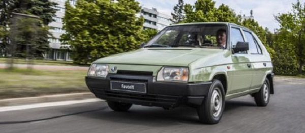 Histoire automobile : La Skoda Favorit fête ses 30 ans