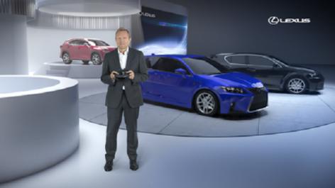 Salon de Frankfurt 2017 : Lexus veut révolutionner la conférence de presse