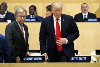 Etats-Unis Donald Trump dénonce la «bureaucratie» qui entrave l'ONU