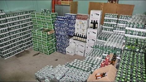 Saisie de plus de 4.600 unités de boissons alcoolisées non facturées