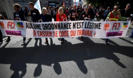Réforme du droit social: Le gouvernement français reste ferme malgré les manifestations