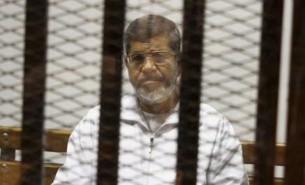 L'ancien président égyptien mohamed morsi condamné à 25 ans de prison
