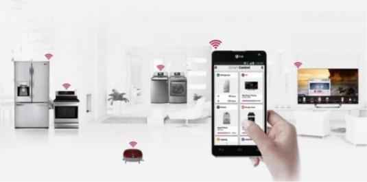 L'IoT, ou comment pousser les limites de l'internet: LG en pôle position