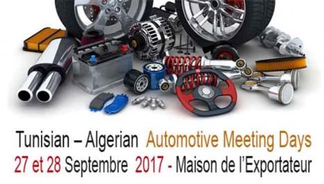 La première édition des «Tunisian–Algerian Automotive meeting Days», les 27 et 28 septembre à Tunis