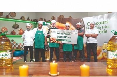 Concours de la meilleure frite d'Algérie:  Idaa d'Oran décroche le trophée de Fridor-Cevital
