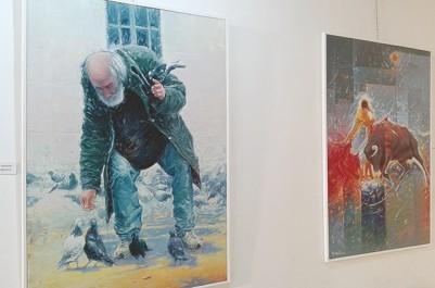 Galerie Mohamed-Racim : Abdelhalim Kebieche expose ses couleurs tourmentées La femme et la fleur règnent en souveraine sur les toiles
