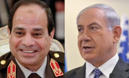 Abdel Fattah al-Sissi rencontre Benjamin Netanyahu à New York