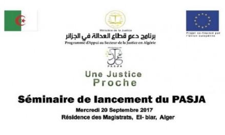 Algérie/UE: Lancement officiel d'un nouveau programme d'appui à la justice