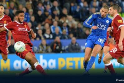 Leicester : Le superbe but de Slimani face à Liverpool (Vidéo)