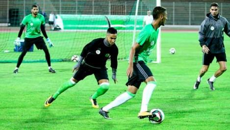 Alcaraz a scindé son groupe en deux : Mahrez, Attal et Ounas ont pris part hier à l'entraînement collectif
