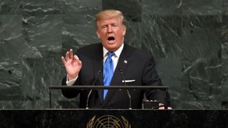 Trump menace de « détruire totalement » la Corée du Nord