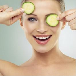 Masque au concombre:  «Coup d'éclat» à faire soi-même