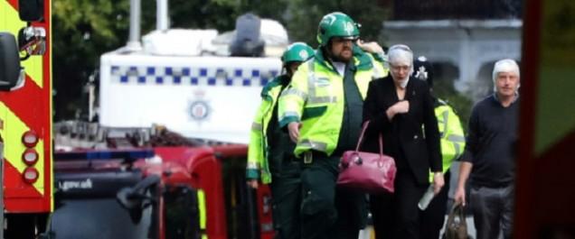Londres: 22 blessés dans l'attentat à l'explosif dans le métro