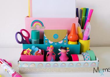 DIY: Fabriquer un organisateur de bureau en carton