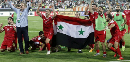 En guerre depuis six ans,les Syriens accèdent aux barrages pour le Mondial 2018