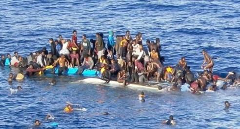 Libye : 8.997 migrants clandestins secourus au large des côtes