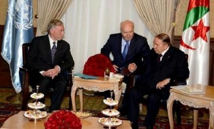 Bouteflika reçoit l'Envoyé personnel du Secrétaire général de l'ONU pour le Sahara occidental