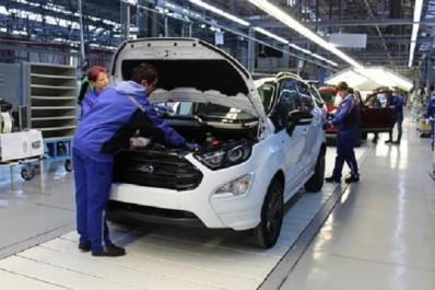 Marché automobile mondial : La production du nouveau Ford EcoSport débute en Roumanie