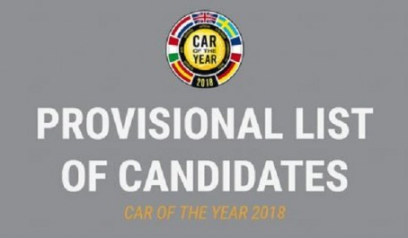 Car Of The Year 2018 : La liste provisoire dévoilée