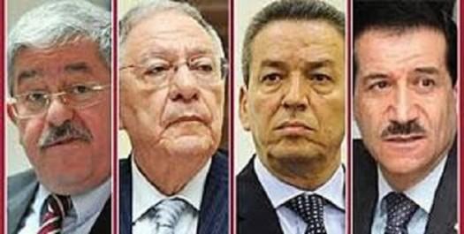 Il a réuni pour la 2e fois le fln , le rnd , le taj et le mpa : Ouyahia ressuscite l'alliance présidentielle