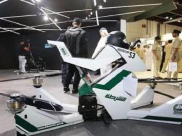 A Dubaï, la police va utiliser une moto volante