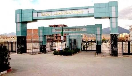 Indignation à l'université de Batna