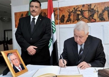 Décès de l'ancien président irakien Jalal Talabani: Bensalah signe le registre de condoléances à l'ambassade d'Irak