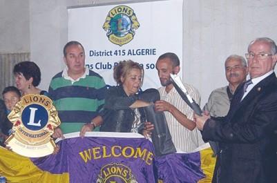 Une belle initiative du club Lions Alger Casbah: 15 non-voyants lauréats du BEM récompensés