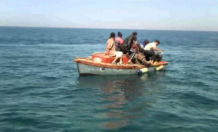 Émigration clandestine: 21 harragas intercepté à l'ouest du pays