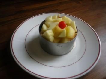Pommes en timbale