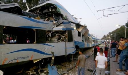 Collision entre deux trains à Souk Ahras