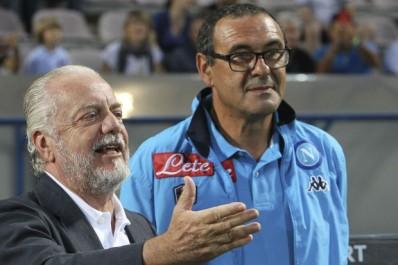 Naples – De Laurentiis : «Je n'échangerais pas Sarri contre Guardiola»