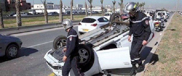 Accidents de la circulation: 24 morts et 43 blessés en 48 heures