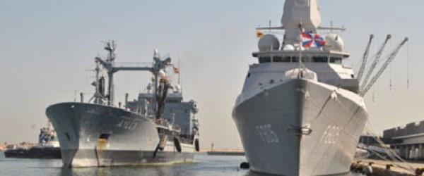 Le 1er Groupe naval de l'OTAN «SNMG-1» fait escale au port d'Alger (MDN)