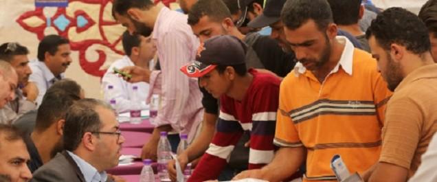 En Jordanie, un salon de l'emploi pour aider les réfugiés syriens