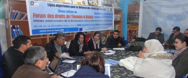Amnesty Algérie participera au rassemblement du 5 octobre à Béjaïa contre le déni du droit de réunion