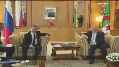 Algérie/Russie: 5 accords de coopération signés
